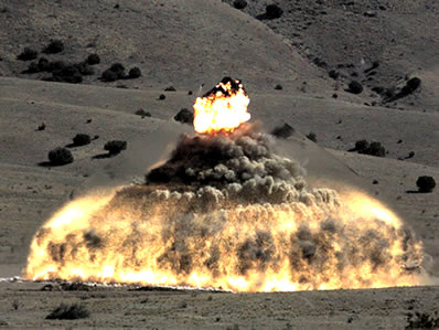explosives-testing